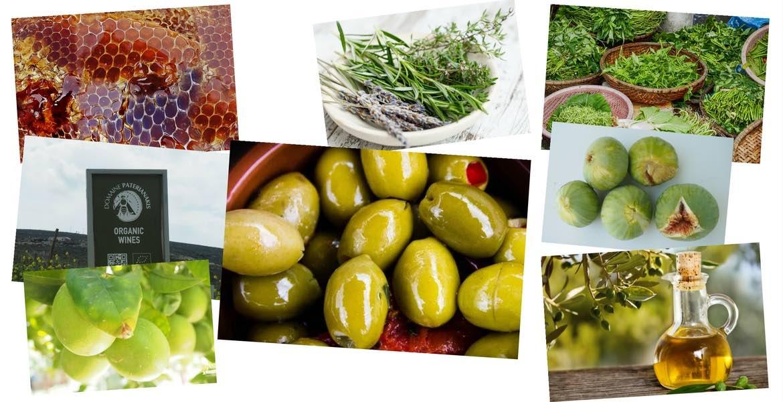 Griechische Küche, griechische Produkte